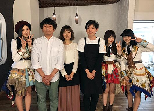 SKE48の北川綾巴さん、木本花音さん、小畑優奈さん