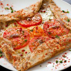 番茄鯷魚法式烘餅